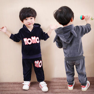 2018 new products clothing baby boy set child model sets carter's suitcase hardware