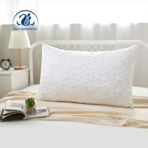 Bamboo Polyester Shell Cooling Fabric Bed Rest Pillow Microfibre Pillow