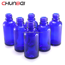 30ml Eliquid Ejuice Vape Essential Oil Cobalt Blue Glass Dropper Bottles With Pipette Childproof Tamper Evident Cap