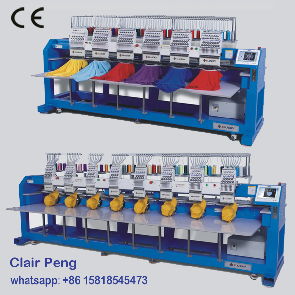 New & Used Industrial embroidery machine for sales