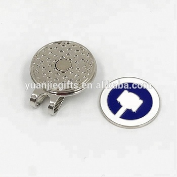 950fea00377 Novelty Design Magnet Golf Ball Marker Hat Clip With Your Own Logo ...