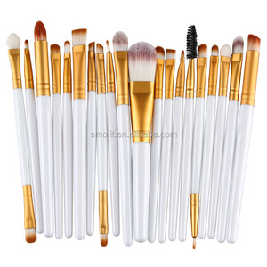 15pcs /sets 20pcs/Set Colorful Make-up Brush Cleaner Cosmetics Make up Brush Set Professional