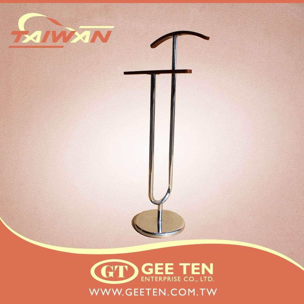 Popular valet stand clothes hanger rack and suits rack