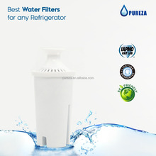 Replacement water filter compatible with Brita water pitcher