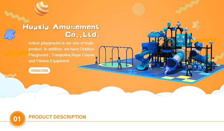TUV kids rectangle jumping indoor trampoline park for sale