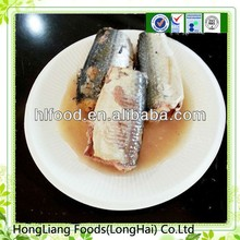 Factory sell custom health mackerel canned seafood