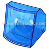 translucent blue color acrylic professional loudspeaker box