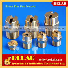 Factory direct-sales Brass Vee Spray Flat Fan Nozzle