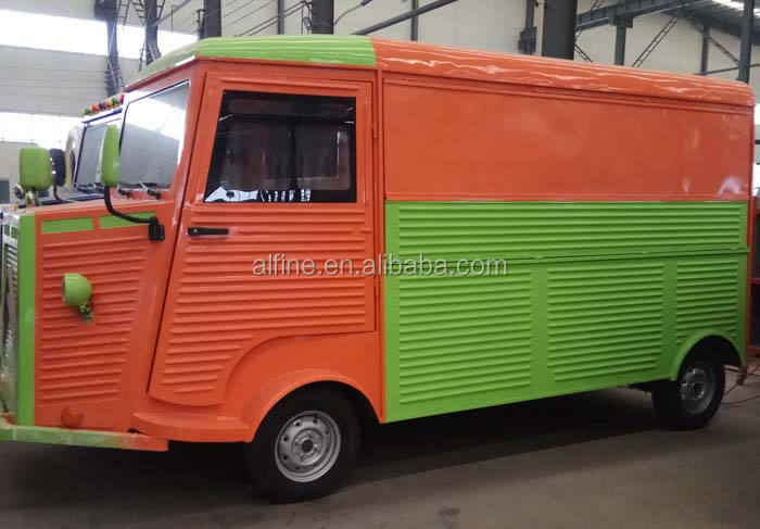 2018 popular electric food truck food bus catering truck
