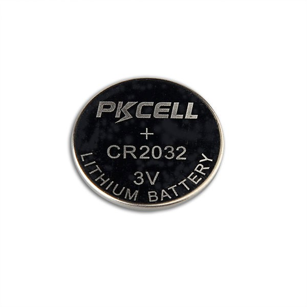PKCELL Lithium coin cell CR 2032 li-ion watch battery