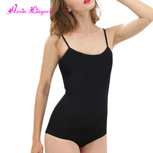 Private label black nylon spandex tummy tucker slimming women spanx body shapers