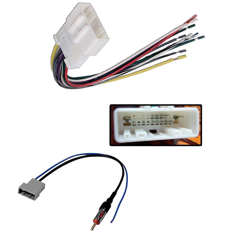 Buy Stereo Wire Harness Nissan Altima Coupe 07 08 09 10 11 Xterra 4 Pin Wiring Car Radio Antenna Adapter 370z Armada Cube Frontier Juke Maxima Murano Nv2500 Nv3500 Pathfinder