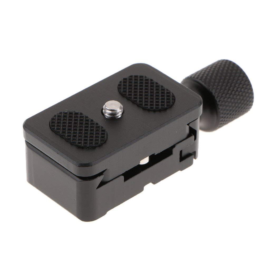 K30 Quick Release Plate QR Clamp for Arca Swiss Standard Tripod Head Black