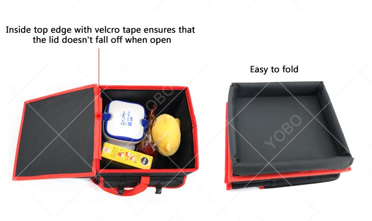 Space saving large capacity car case drawers travel Car Organizer