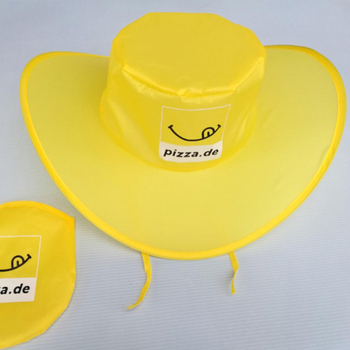 faa81d09c Custom Logo Printing Polyester Nylon Collapsible Folding Cowboy Sun Hats  With Pouch, View Folding Cowboy Hat, OEM Product Details from Yiwu CTY  Promos ...