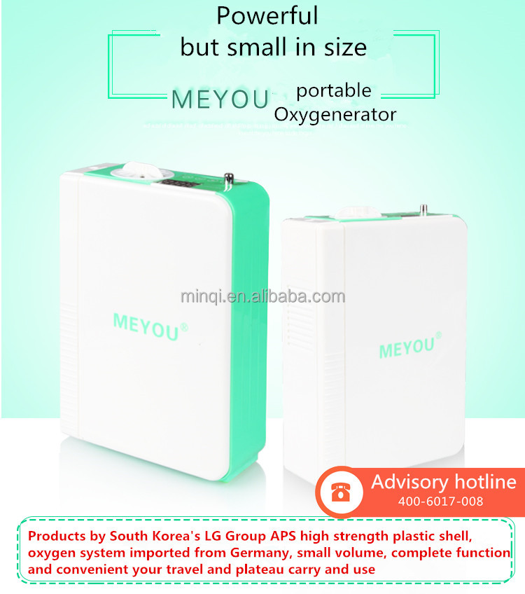 1L high-end mini portable super long standby oxygen concentrator