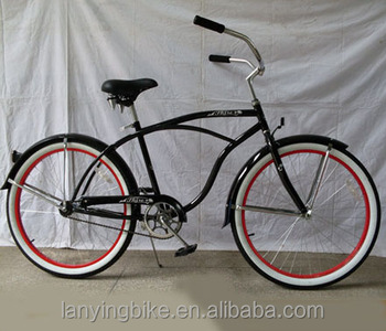 26 Anodized Beach Cruiser Bike With