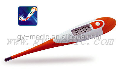 large LCD flexible digital thermometer