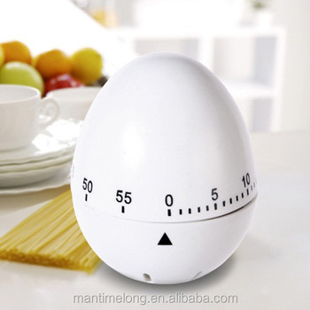 60 Minutes Egg Shape Timer Countdown