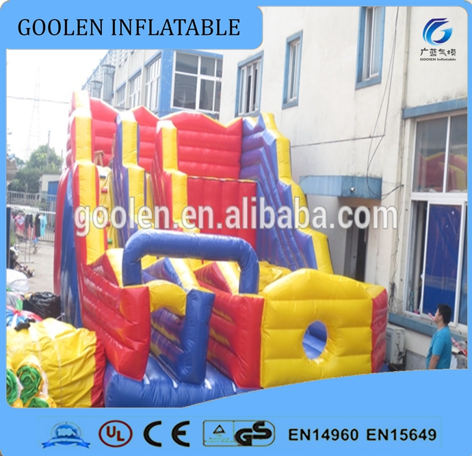 inflatable sport games inflatable cliff jump