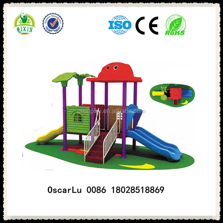 kids playing playgrounds summer slides outdoor play toys for sale ( QX-18061B)