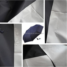 polyester 190T waterproof silver coated umbrella fabric