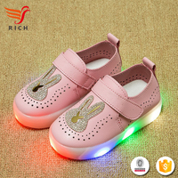HFR-TS-51-1 2017 new PU wholesale soft sole baby leather shoes
