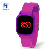 Promotion Fashion Various Colors Wrist Watch Silicon For Girls