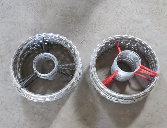Electrified Razor Wire Coil Buy Razor Wire Flat Wrap