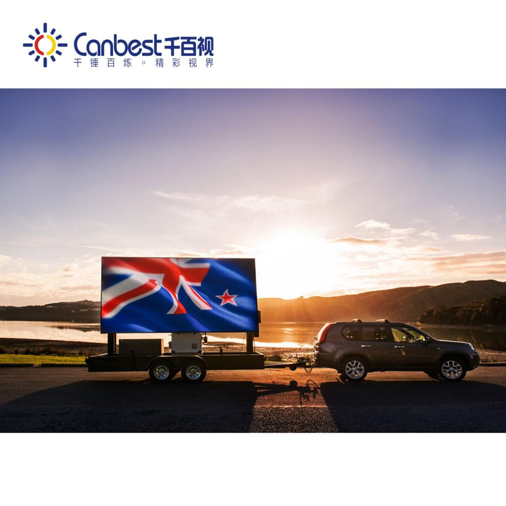 CANBEST HD P5 waterproof LED billboard truck mobile advertising led display