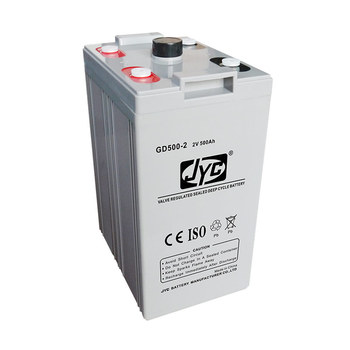 2V 500Ah VRLA AGM MF Battery Cell 12S1P Formed Solar UPS 12V 500Ah Deep Cycle Battery