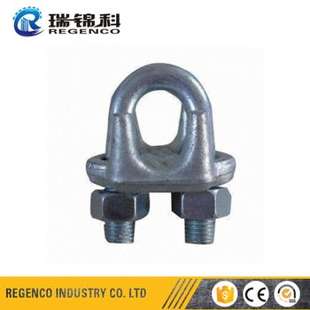 Steel Cable Clamps Wire Rope Construction - Buy Steel Cable Clamps ...