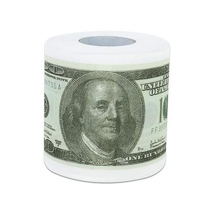 Factory Wholesale Standard Roll 3 Ply Money Dollar Bill
