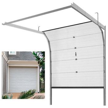 High Quality Aluminum Rolling Upsectional Electric Garage Door