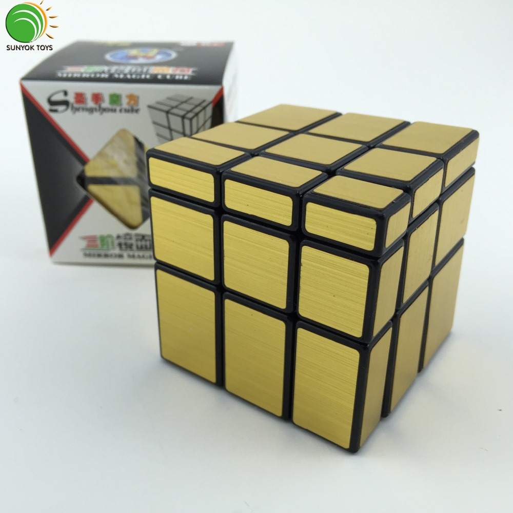 ShengShou Brushed Gold Mirror Magic Cube