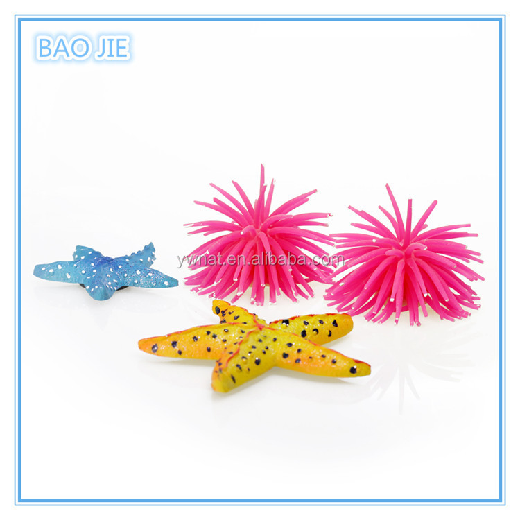 Wholesale Silicone Aquarium Fish Tank Artificial Coral Plant Underwater Ornament Decor