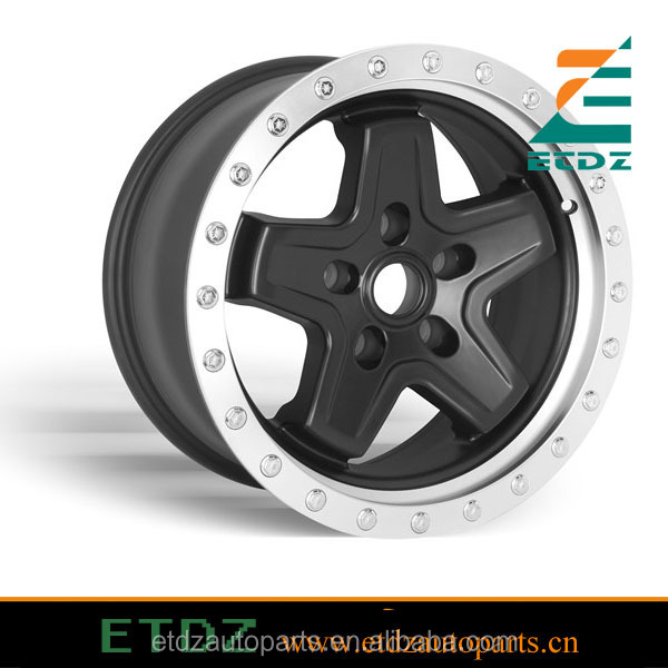 High Quality AEV jeep fake alloy beadlock wheel