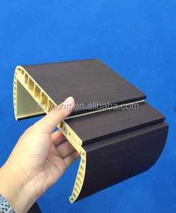 China good quality and Cheap interior wpc/pvc door jamb /frame /profile