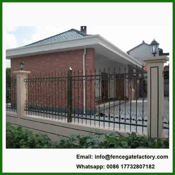 Stile Moderno Recinzione In Ferro Battuto Per Villa Window Ringhiera
