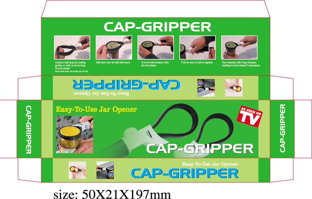 Extendable Cap Gripper Bottle Jar Can Openers Manual