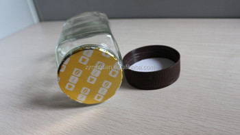 Induction aluminum foil gasket/seal for coffee cap gasket