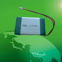 1500mah li-polymer battery/rechargeable 7.4v battery pack/high quality 7.4v 1500mah lithium polymer battery