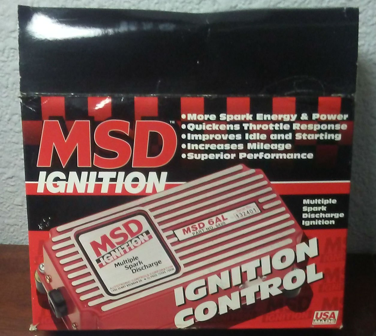 get quotations � msd 6200 6 series ignition systems