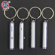New Alloy Hiking Camping Mini Moon Flashlight Portable LED Light Torch Keychain