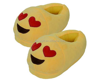 Cheap Wholesale Custom Canada Plush Whatsapp Emoji Slippers - Buy Whatsapp  Emoji Slippers,Emoji Slippers Canada,Cheap Wholesale Custom Plush Emoji