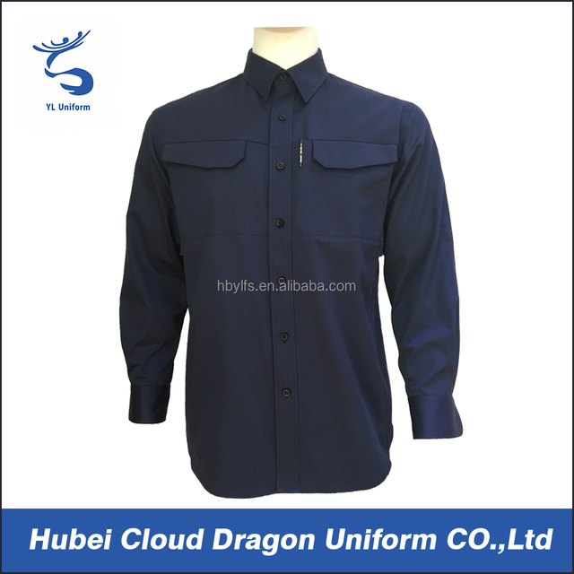 Navy blue long sleeve work uniform cheap outdoor jacket