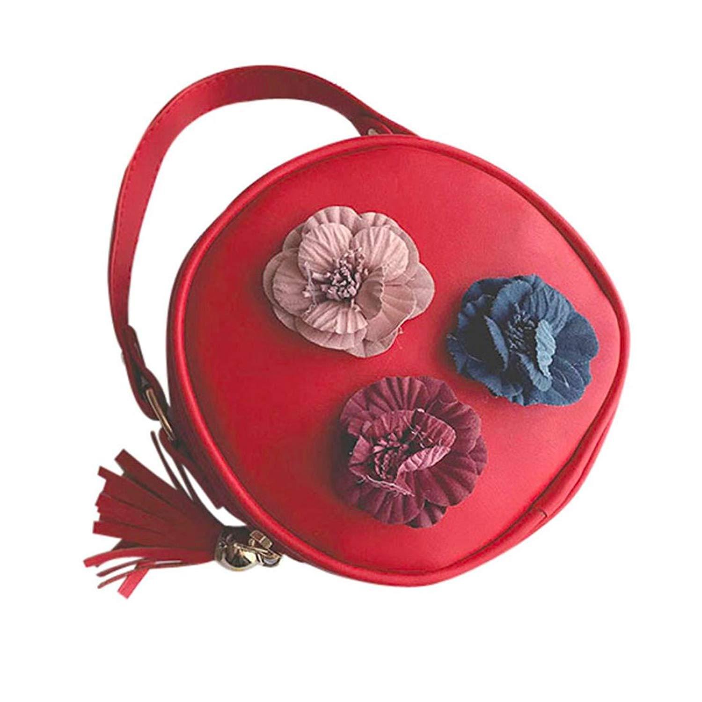 Women Handbag Shoulder Stereo Flowers Bag Tote Messenger Wallet Zip Coin Purse Makeup Storage Bag Faionny