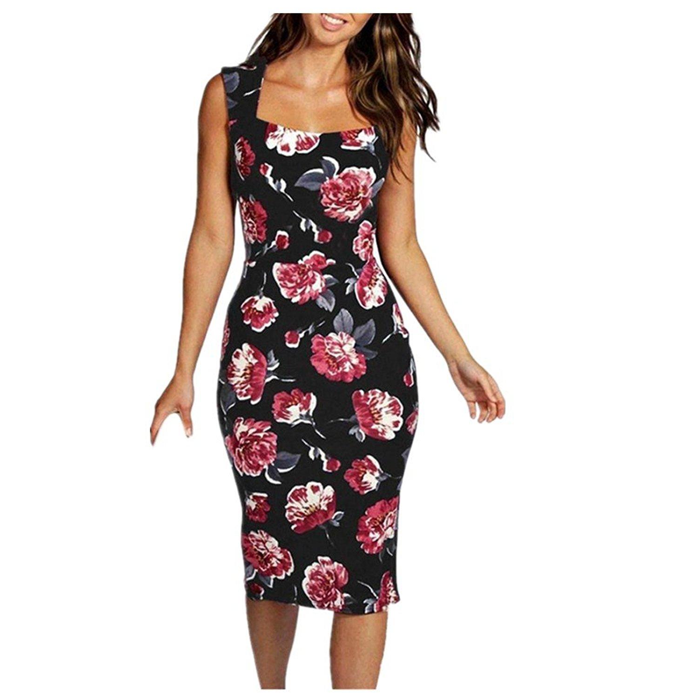 8ce437d66d2e3 AmyDong Hot Sale! Ladies Dress, Package Hip Dress For Women Halter Dress  Strap Dress