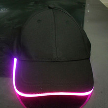 Hot new retail products glow in dark hat and cap