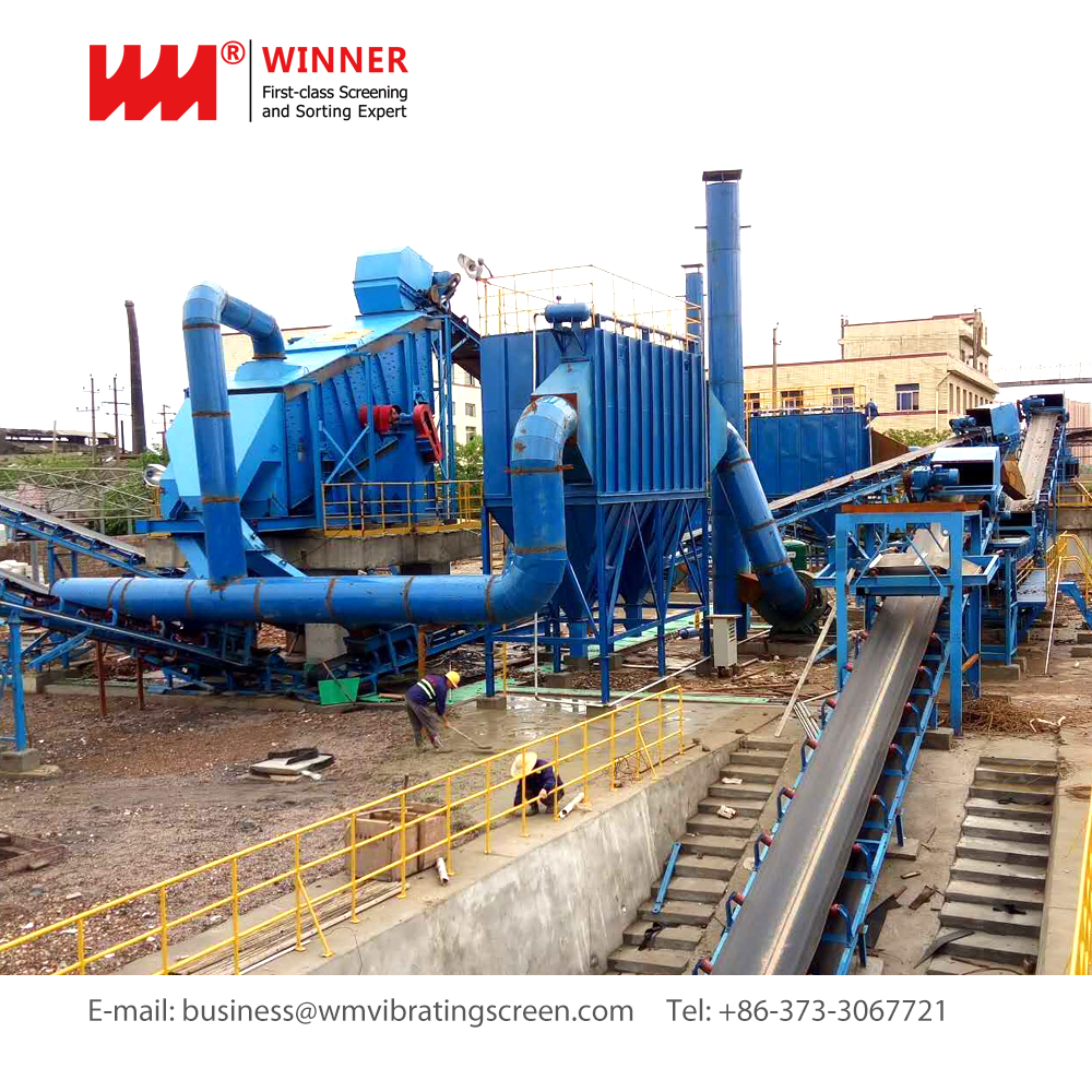 Winner waste ceramics recycling machine
